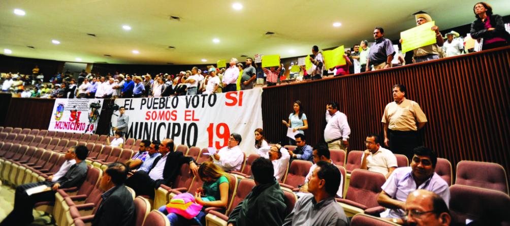 Llaman ciudadanos a no votar por el PRI ni el PAN en Eldorado