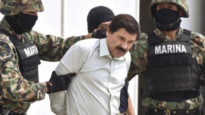 Recapturan al 'Chapo' Guzmán