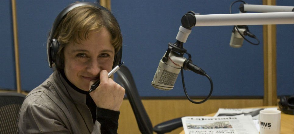 MVS Radio despide a Carmen Aristegui tras haber despedido a sus colaboradores