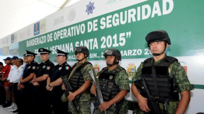 Más de 10 mil elementos brindarán seguridad a vacacionistas en Semana Santa