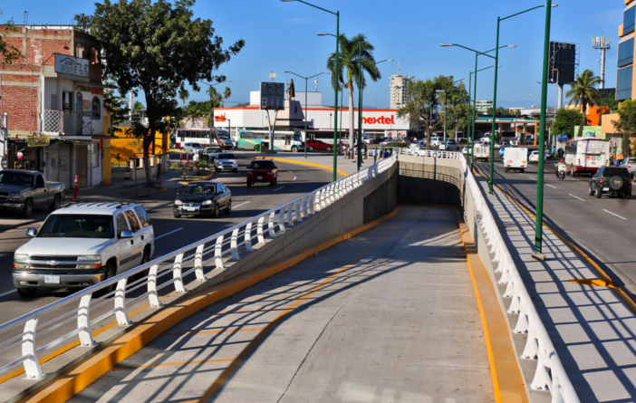 Abren a la vialidad túnel que conecta Eje Federalismo con Insurgentes