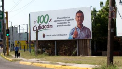 Propaganda 'Al 100 por Culiacán' viola la ley; Ayuntamiento debe retirarla, ordena el INE