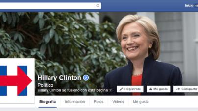 Logo de campaña presidencial de Hillary Clinton desata polémica