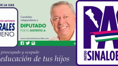 ELECCIONES 2015 | Candidatos independientes usan colores del Partido Sinaloense