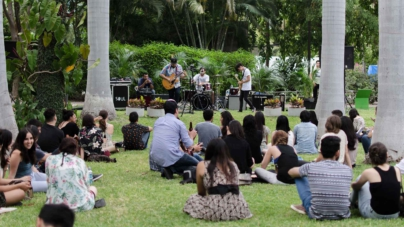 Música, arte y naturaleza en la fiesta del Jardín Botánico