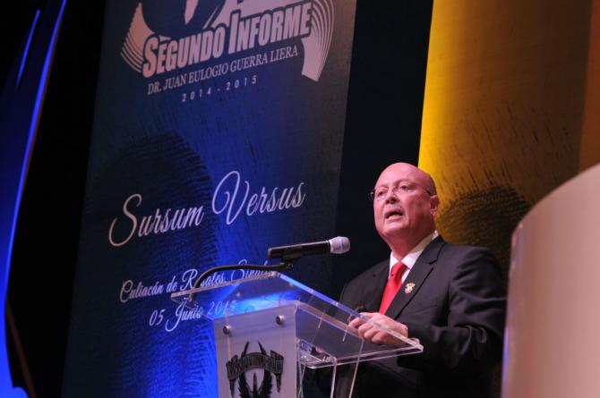 A pesar de dificultades financieras, rector destaca logros de la UAS