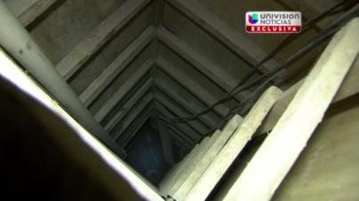 VIDEO | Adéntrate al túnel por donde escapó el 'Chapo'