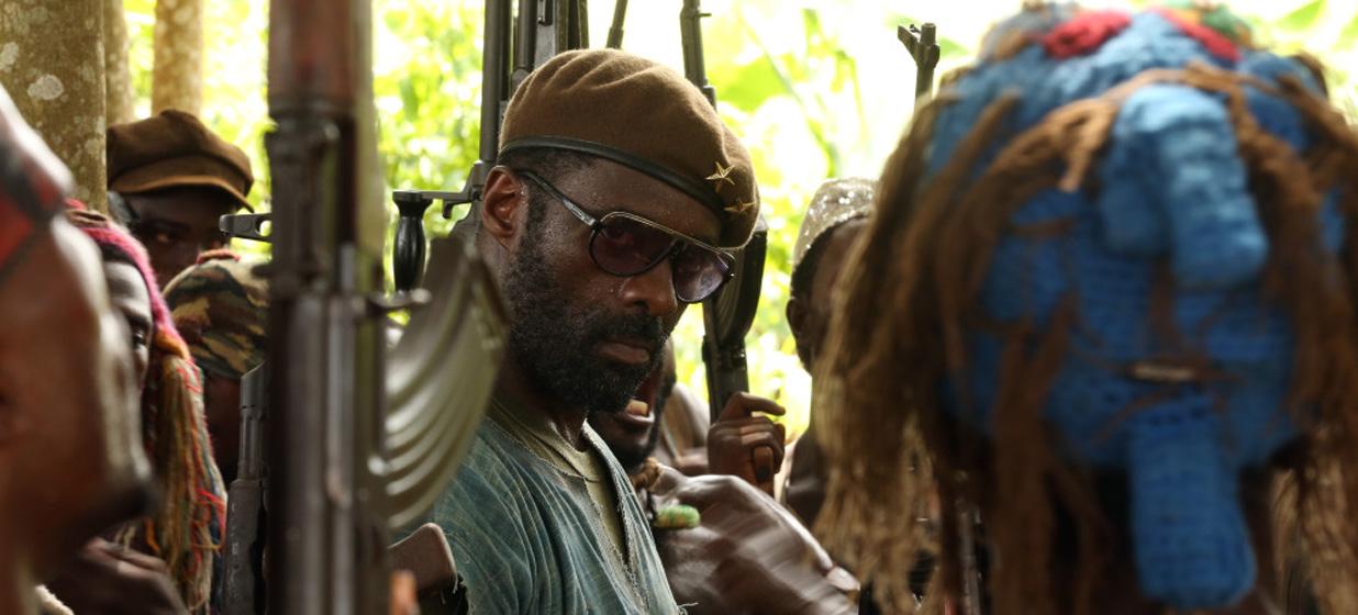 Idris Elba in the Netflix Original motion picture 'Beasts of No Nation' Credit: Netflix [Via MerlinFTP Drop]