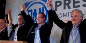 Aplasta Ricardo Anaya a Javier Corral en elección interna del PAN con 81% de los votos