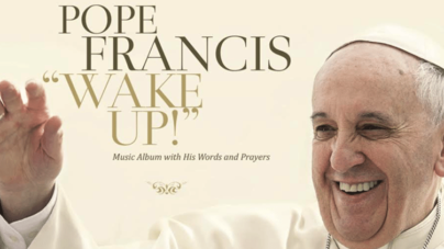 "Escucha un adelanto de ""Wake Up!"" el disco rock-pop del papa Francisco"