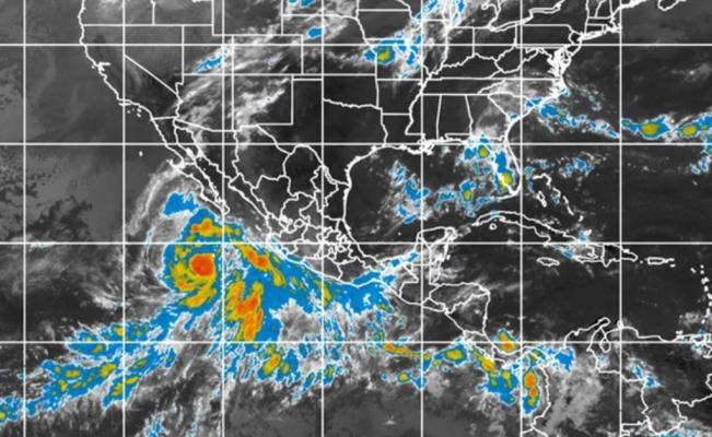 Se forma huracán 'Linda' en el Pacífico; sube a categoría 2