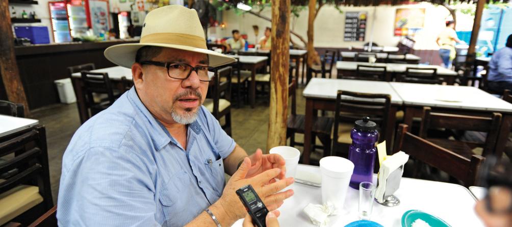 El Guayabo sin Javier Valdez