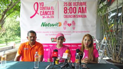 Todo listo para la carrera Yo contra el cáncer