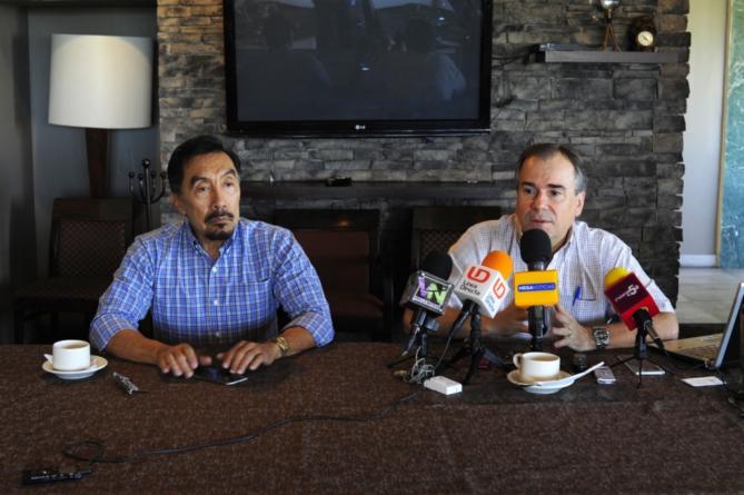 Sergio Esquer y Diego Ley presentan su propuesta para dirigir AARC y Caades