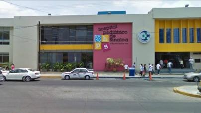 """Cada año, le """"desaparece"""" gobierno estatal 30 mdp al Hospital Pediátrico de Sinaloa"""