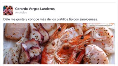 Vargas Landeros invade de publicidad las redes sociales