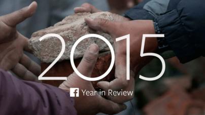 Conoce los temas más populares en Facebook durante el 2015