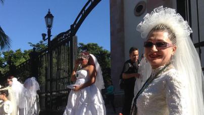 El peregrinar de las novias de Culiacán