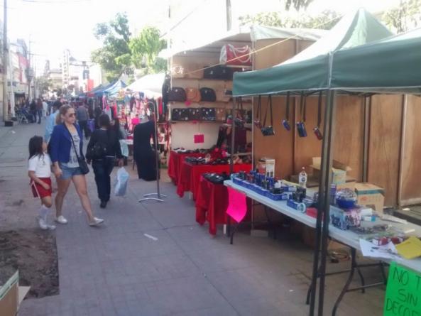 Busca Canaco que se reduzca el comercio ambulante en el centro de Culiacán