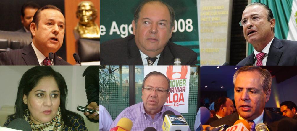 ¿Quién de estos 6 será el candidato del PRI al Gobierno de Sinaloa?