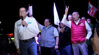PRI y PAN se declaran ganadores en Colima   PREP da ventaja al tricolor