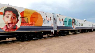 El tren de la salud | Regresa a Sinaloa el 'Dr. Vagón'
