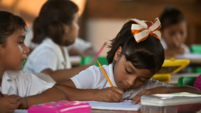 Un 'kínder' con aulas de cartón de Culiacán no entra al programa de Quirino