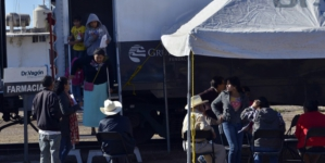 El Dr. Vagón ya está en Sinaloa | El tren de la salud atiende a poblaciones marginadas