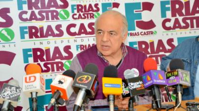 """Frías Castro: """"Sostengo que fue una elección de Estado y que debe auditarse gobierno de Malova"""""""