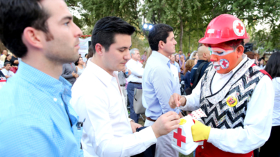 Inicia Cruz Roja su colecta anual y va por 25 millones de pesos