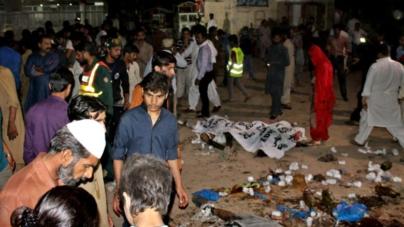 Celebraban Pascua en Paquistán y atentado dejó decenas de muertos y cientos de heridos