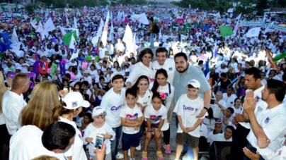 Multitudinario cierre de campaña de Cuen en Culiacán