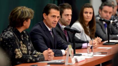 Impulsa Peña Nieto matrimonio igualitario y condena la discriminación