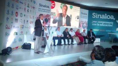 Asumen 5 candidatos compromisos por la educación; Martín Heredia no firma