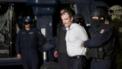 EU entrega al 'Güero Palma' y la PGR lo encierra en el penal del Altiplano