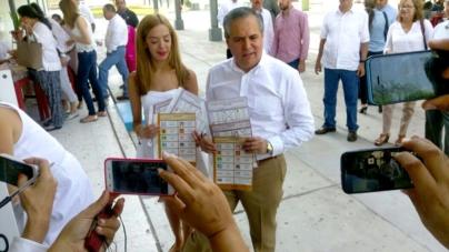 Gerardo Vargas exhibe que votó por el PRI y es denunciado ante la Fepade