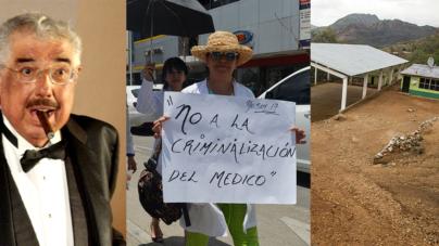Lo más leído | Médicos marchan, muere el profesor Jirafales y suspenden clases por violencia