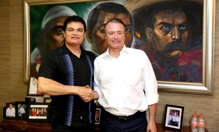 Acuerdan Malova y Quirino cabildear juntos el Presupuesto 2017