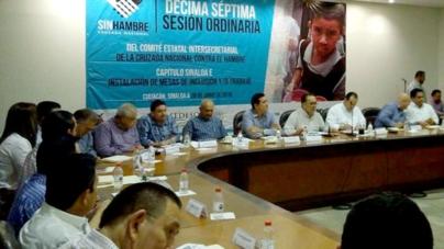 Instalan mesas de inclusión para combatir marginación y pobreza en Sinaloa