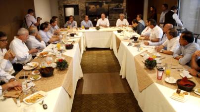 Ofrece Quirino Ordaz diálogo y trabajo con IP para que Sinaloa crezca