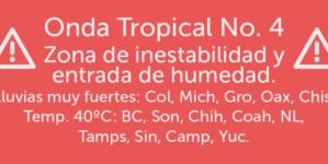 ¡Que calorón! | Onda tropical No. 4 traerá temperaturas mayores a 40°C