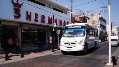 Restablecen servicio de transporte en Culiacán tras promesa de brindar seguridad