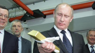 ¿Por qué Rusia y China están comprando toneladas de oro?