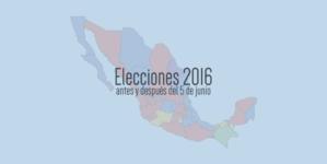 Elecciones 2016 | ¿Sabes cómo quedó el mapa político de Sinaloa y México?