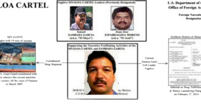 Capturan al 'Capi Beto', operador del Mayo Zambada; EE.UU. ofrecía 5 MDD por él
