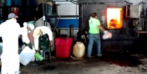 Sedena y PGR incineran casi 20 toneladas de narcóticos en Culiacán