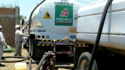 Asegura PGR más de 15 mil litros de hidrocarburo en Mazatlán
