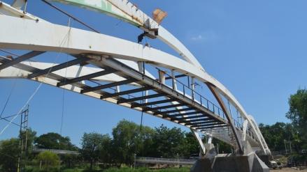 Fotogalería | ¿Ya viste cómo va el nuevo puente bimodal?