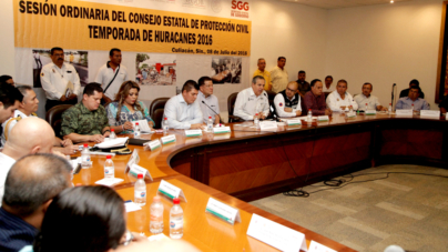 En marcha plan para hacer frente a la temporada de huracanes 2016 en Sinaloa
