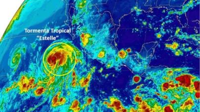 Tormenta tropical Estelle se perfila a huracán | Lluvia y calor dejará a Sinaloa